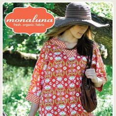 Tea Blossom Tunic Sewing pattern by Monaluna by miniQshop on Etsy