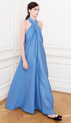 Jacquard Scarf Neck Jumpsuit by Natasha Zinko for Preorder on Moda Operandi  Resort Wear Dresses c9833e85d9e