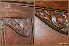 Take care of your furniture - it is an investment!  Before and After Using Restor-A-Finish On Antique Furniture (2)