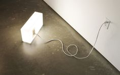 American Standards Lamp by Peter Bristol. Provides light and power socket.