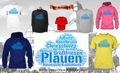 Alle Ortsteile von Plauen auf einem Shirt - nur hier: https://teespring.com/plauen-wolke