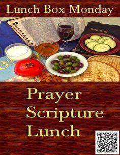 Lunch Box Monday 🙏 Prayer 📖 Scripture 🍕 Lunch ←→ 05/17/2021 #LunchBoxMonday #DBECommunityOutreach