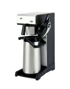 Bravilor TH  With 1 brewing system. Without water connection. 1 full airpot in 6 to 8 minutes Throughput per hour: 15 to 20 litres Rated power: 230V Airpot not included. Use code 7.171.331.101 ...  http://www.love-espresso.co.uk/