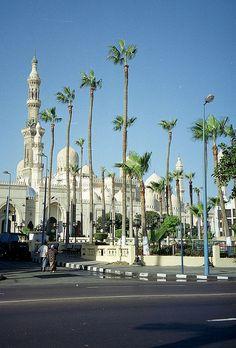 مسجد البوصيرى بالإسكندرية Egypt - Alexandria Mosque Bosairy