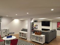 Before & After: Lacey's Multifunctional Basement — The Big Reveal Room Makeover Contest 2015   Apartment Therapy