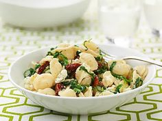 In honor of National Cheese Day celebrate with Giada and her Orecchiette with Mixed Greens and Goat Cheese recipe! #BellaSunLuci #cheese #holiday #recipe #cooking #baking #food #yum #delicious #Italy #italian #health #summer   http://www.foodnetwork.com/recipes/giada-de-laurentiis/orecchiette-with-mixed-greens-and-goat-cheese-recipe.html#lightbox-recipe-image