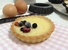 Tartaletky zapečené se žloutkovým krémem Tart, Cheesecake, Pie, Pudding, Cupcakes, Food, Torte, Cake, Cupcake Cakes