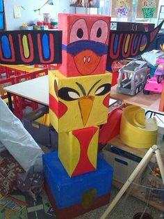 Annelies' blog, kleuterjuf!: INDIANEN (3KK) Pow Wow, Le Far West, Dramatic Play, Art Classroom, Summer Activities, School Projects, Peter Pan, Cowboys, Party Time