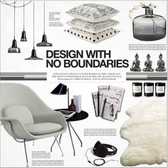 Zoe. by purpleagony on Polyvore featuring interior, interiors, interior design, home, home decor, interior decorating, Knoll, Glas Italia, Byredo and UGG Australia