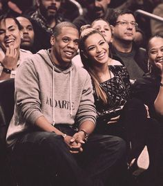 beyonce and jay z... luckiest man alive I'd say.