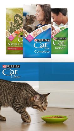 Purina® Cat Chow® proudly offers a variety of formulas because we recognize how important it is to find the right nutrition for different lifestyles, needs and tastes. And even with so much variety, we make sure our formulas provide 100% complete and balanced nutrition for each life stage with a taste cats love.