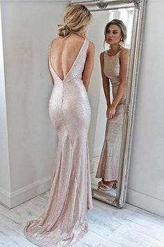 Backless Pink Scoop Neckline Backless Sheath Prom Dresses Party Dresses Z1663