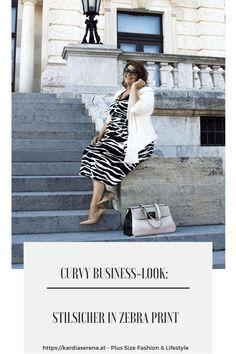 Business Mode, Business Fashion, Dress Code, Female Supremacy, Rocker, Outfit Trends, Office, Zebra Print, Girl Boss