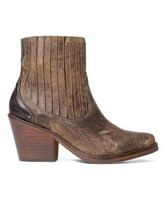 This Brown Leather Jenci Boot is perfect! #zulilyfinds