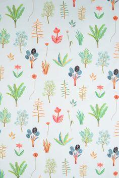 Herbarium Design by Hvass & Hannibal for our #healsfabrics