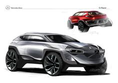 Mercedes-Benz G-Razor Concept by Jacob Cobos, via Behance