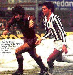 Claudio Sala marcato da Claudio Gentile
