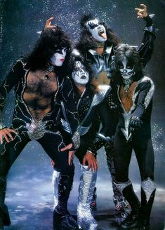 Somewhere In Time Kiss Rock Bands, Kiss Band, Kiss Images, Kiss Pictures, Paul Stanley, Eric Singer, Kiss Group, Witcher Wallpaper, Metallica