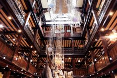Have you noticed our glittering chandelier on 2nd Floor? #LibertyLondon