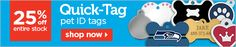 25% off Quick-Tag pet ID tags - shop now