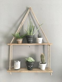 Phenomenon Diy Hanging Shelves For Simple Storage And Beautiful Decor Ideas . deko ideen Phenomenon Diy Hanging Shelves For Simple Storage And Beautiful Decor Ideas . - Home Decor Art Diy Hanging Shelves, Wooden Shelves, Rope Shelves, Storage Shelves, Salon Shelves, Hanging Baskets, Floating Shelves, Baby Shelves, Decorative Shelves
