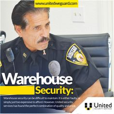 Warehouse security can be difficult to maintain. It is either faulty, or simply just too expensive to afford. However, United security services has found the perfect combination of quality and price.