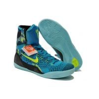 Nike Kobe 9 Elite High-Top Perspective Neon Turquoise Volt
