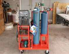 Finished my new 2 in 1 cart - WeldingWeb™ - Welding forum for pros and enthusiasts: