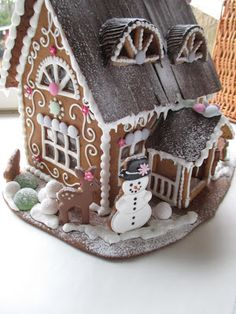 Mansikkamäki. Gingerbread house.