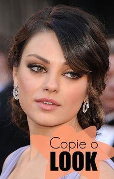 Canal Moda: Tutorial Mila Kunis no Oscar 2011