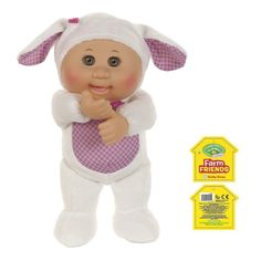 """Cabbage Patch Farm Friends Brown Eyed Shelby Sheep, 9"""", Brand New With Tags #WickedCoolToys #Dolls"""