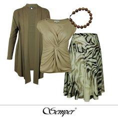 #animalprint #tiger #africa #inspirations #fashion #fashionbrand #designerfashion #getthelook #shoponline #semper