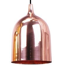 Shop Lighting Collective for this fantastic small shiny copper pendant light. Copper Pendant Lights, Pendant Lighting, Ceiling Lamp, Ceiling Lights, Copper Interior, Copper Metal, Shape Design, Shop Lighting, Light Fittings