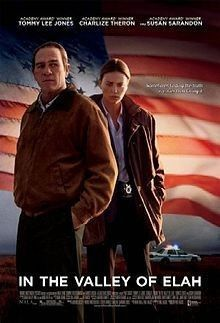 In The Valley Of Elah (2007) Jason Patric, Tommy Lee Jones, Susan Sarandon, Charlize Theron, Great Films, Good Movies, Awesome Movies, Movies Free, Paul Haggis