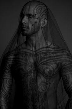 veiled | tribal | artform | tattoos | covered | warrior | traditional | culture |