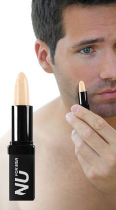 e483b6ac83f Concealer for Men by NU Makeup.Like a smooth cream with the natural finish  of a powder. | www.differio.com