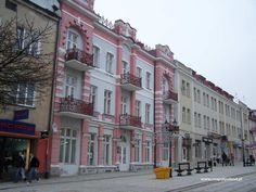 Dluga Street - Lomza, Poland- Bergman Family from here