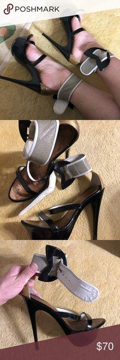 Giuseppe Zanotti Platform Sandals Giuseppe Zanotti Platform Sandals. My all time favorite, very comfortable despite very high heel and platform. Combination of colors. Size 36/6. Original price $1200 Giuseppe Zanotti Shoes Heels