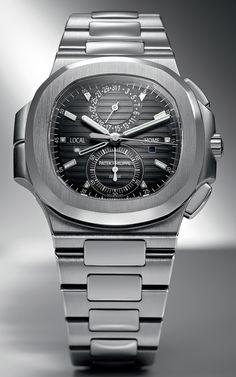 Patek Philippe Nautilus Travel Time Chrono Ref 5990 1A