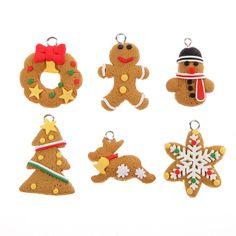 6 Pieces Christmas Tree Pendant
