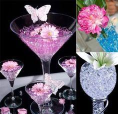 Water Beads Wedding Centerpieces