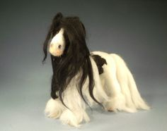 Jamaica Needle Felted Horse by Gonetothedogsusa on Etsy, $150.00