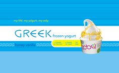 TCBY Greek frozen yogurt!  I eat this everyday with fruit.  YUM:)