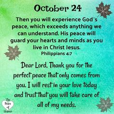 And the peace of God, which passeth all understanding, shall keep your hearts and minds through Christ Jesus. Prayer Verses, Prayer Quotes, Bible Quotes, God Is For Me, Love The Lord, Christian Affirmations, Daily Affirmations, Daily Scripture, Daily Devotional
