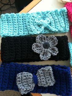 DIY crochet headbands ✭Teresa Restegui http://www.pinterest.com/teretegui/ ✭