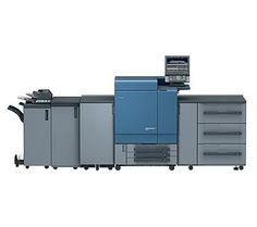 Kolorowy system drukujący #Konica Minolta bizhub #PRESS C8000 Konica Minolta, Locker Storage, The Unit, Prints, Home, Design, Digital, Ad Home