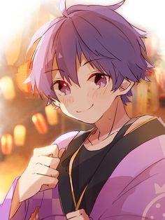 Anime Chibi, Anime Oc, Blue Hair Anime Boy, Dark Anime Guys, Oc Manga, Manga Boy, Cute Anime Character, Character Art, Character Design