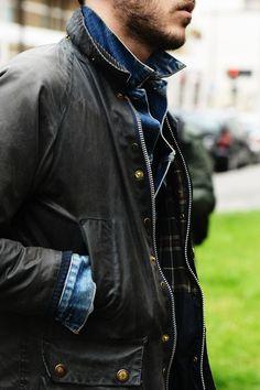 field jacket / denim jacket