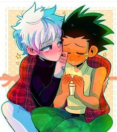 Killua taking care of Killua is so cute I can't handle it {credit to artist} #fairytail#deathnote#hunterxhunter#hunterxhunter2011#killua#zoldyck#gon#kurapika#followforfollow#alluka#dragonball#dragonballz#attackontitan#clannad#fullmetalalchemist#frosch#jellal#onepiece#attackontitan#bleach#naruto#anime#manga#otaku#kawaii#souleater#shingekinokyojin#sailormoon#jerza#narutoshippuden#cute Pishi by nekohunterr