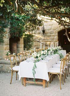 This garden wedding